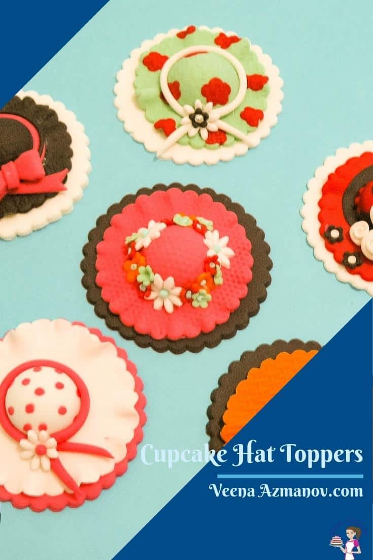 Give your cupcakes a girly twist with these hat cupcake toppers. Whether you are 5 or 50 these are bound to make your smile. Made with fondant and a little bit of love these cupcakes are fun to make  #hatcupcakestopper #cupcaketoppers #hat #cupcake #hatcupcake #cupcaketoppers #cupcakestoppers #hatcupcake  via @Veenaazmanov