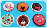 Hat Cupcake Toppers