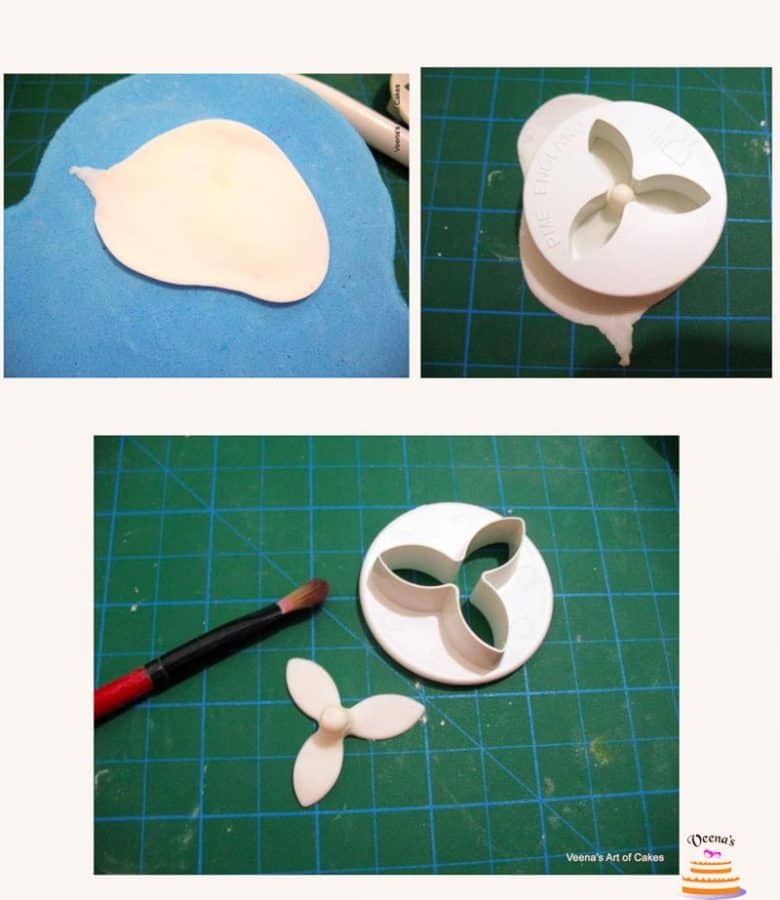 Step by step tutorial on how to make the Freesia in Sugar using Gumpaste - Cake Decorating Tutorials by Veena Azmanov