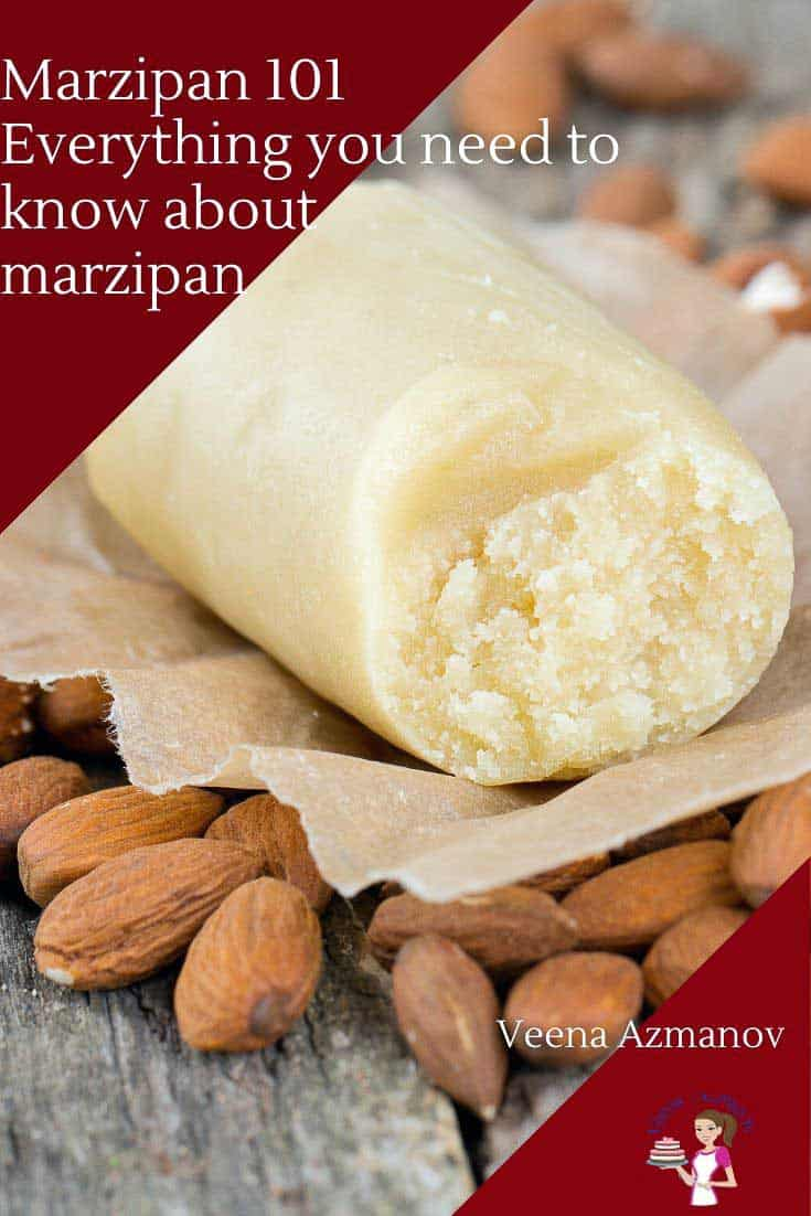 Wondering how to make homemade marzipan>? and how to use it?