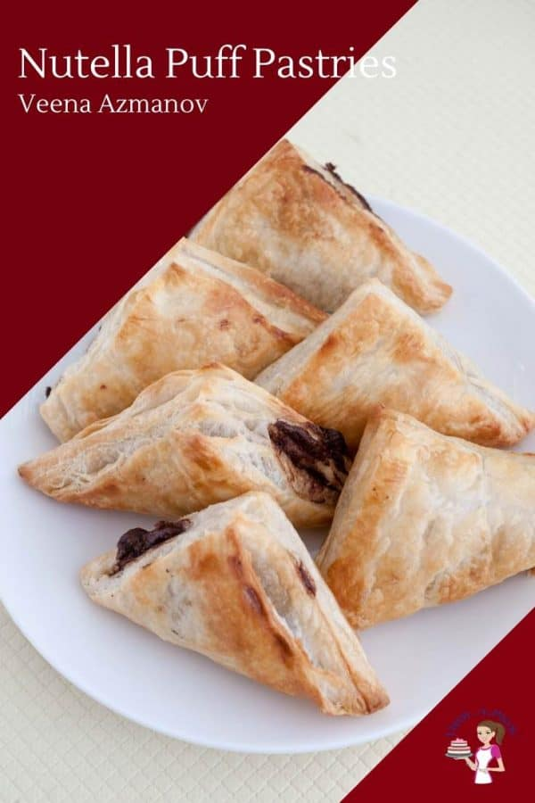 How to Make Puff Pastry Turnovers with Nutella