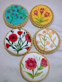 Hand Painted Cookies – How to hand paint on cookies