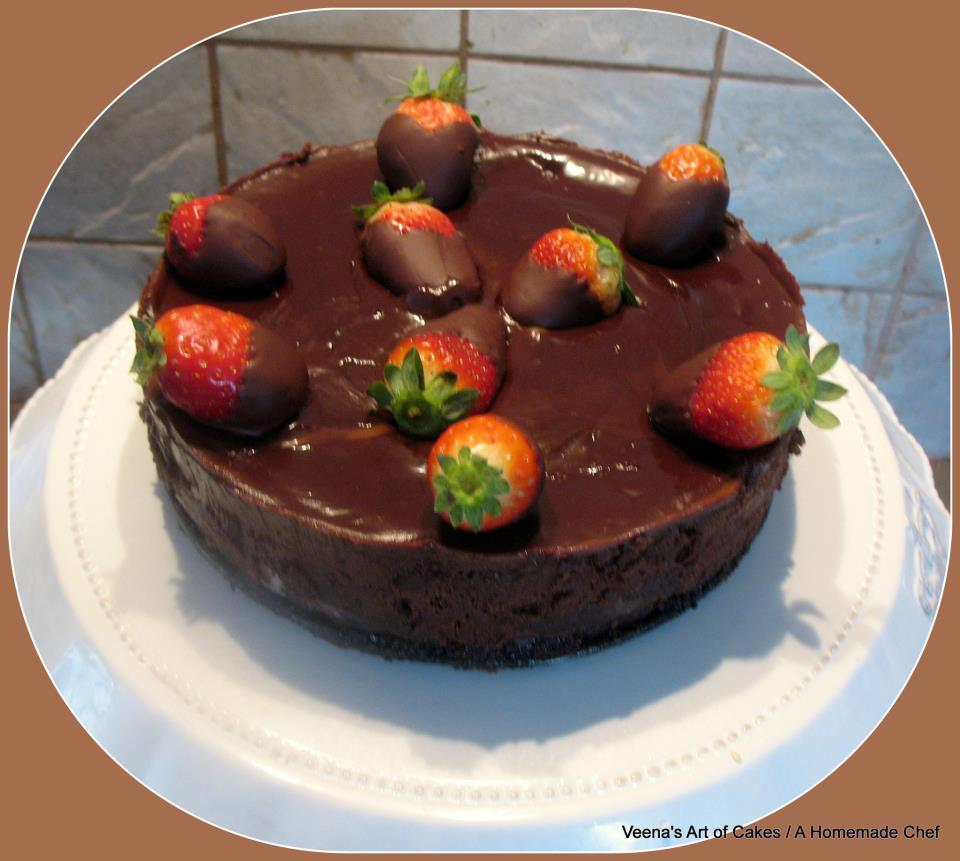 Flourless Chocolate Cake I - A Homemade Chef