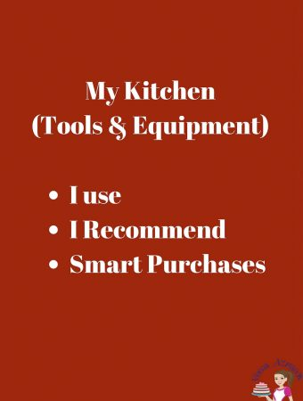 My Kitchen Tools and Equipment