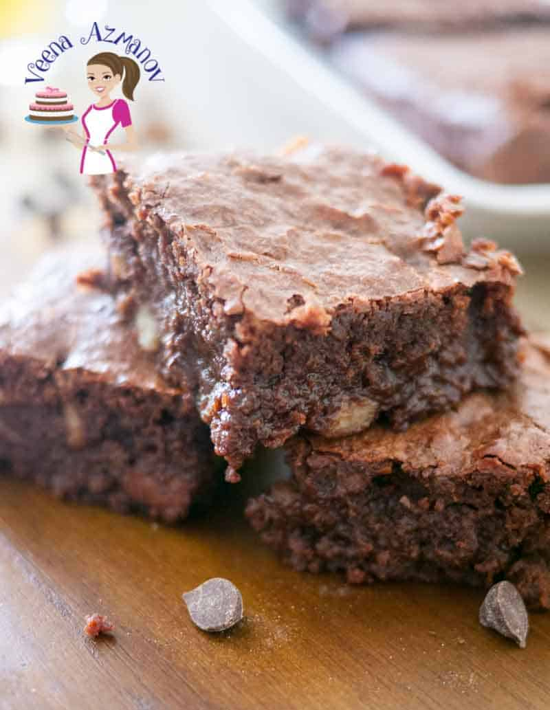 A good Chocolate Brownie has a little crisp crust but a soft moist almost melt in your mouth feel. That's what this recipe gives you every single time. It's been a family favorite for years and the only thing that changes is the percentage of chocolate and the serving trends.