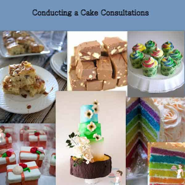 Conducting a Cake Consultations is an excellent guide to any new or upcoming cake decorator who wants to learn the business of cake decorating. Truly amazing guide and tips by Veena Azmanov of Veenas Art of Cakes