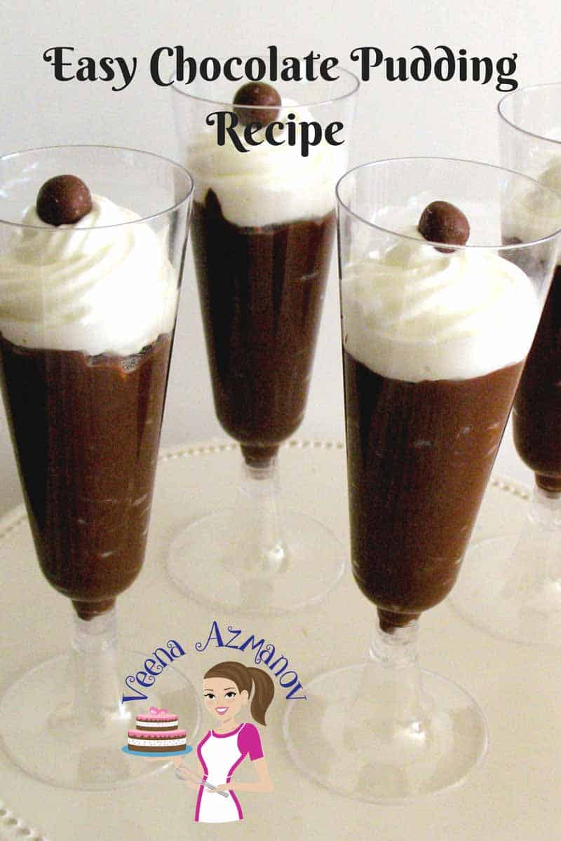 This chocolate pudding recipe is a perfect quick fix when you want a simple easy and delicious treat. It barely takes any time to make and you can flavor it so many different way. Try this chocolate for a chocolate craving