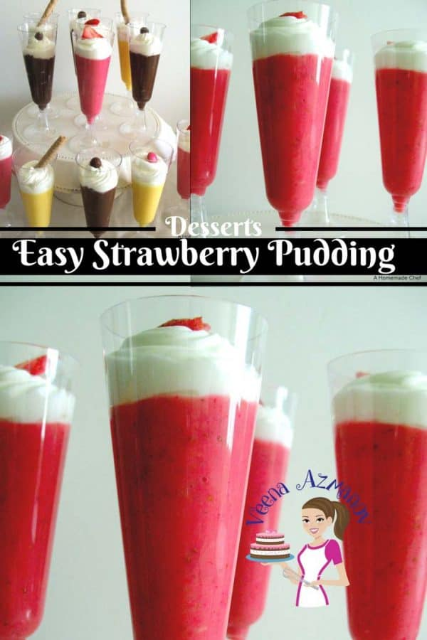 This strawberry Pudding is simple; easy and delicious! it's also the best treat for all ages. Weather you are six or sixty a delicious strawberry pudding is bound to pamper you.