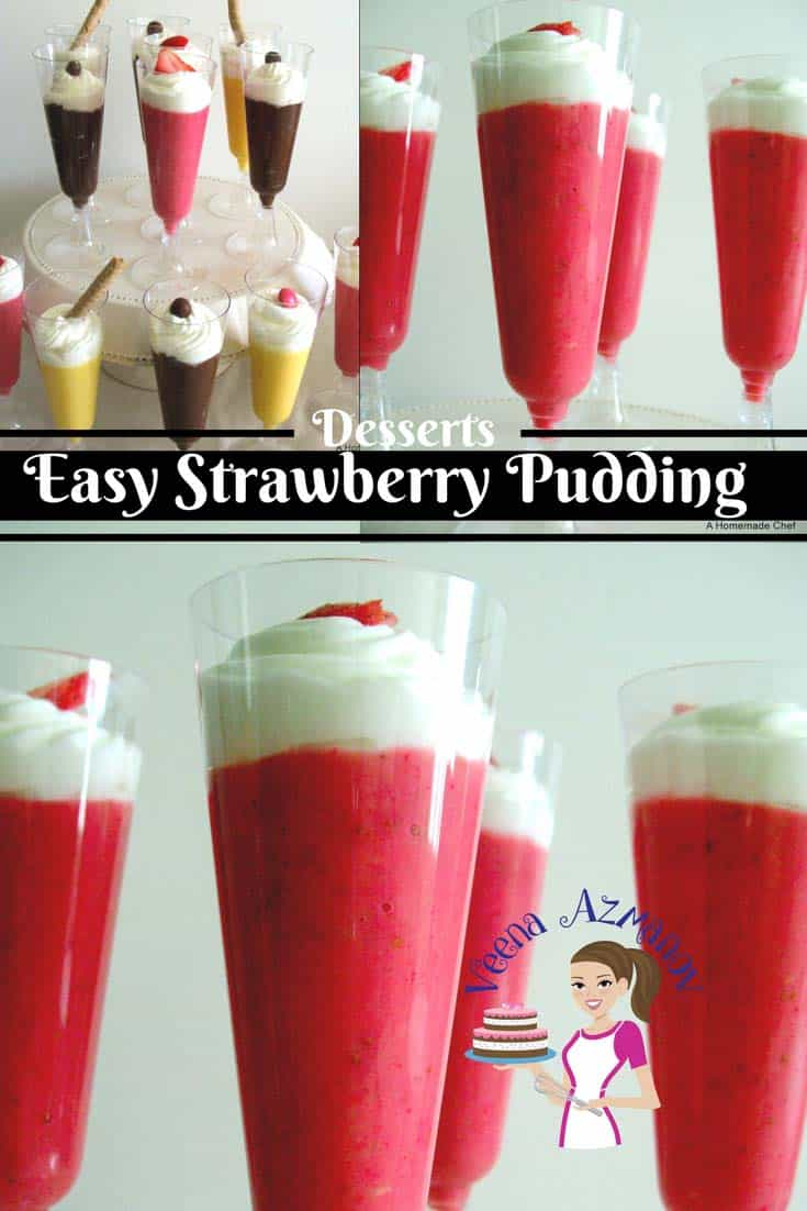 This strawberry Pudding recipe is not just simple easy and delicious it's also the best treat for all ages. Weather you are six or sixty a delicious strawberry pudding is bound to pamper you.