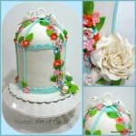 Birds Cage Mini Cakes