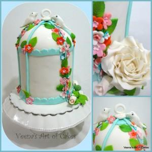 Bird Cake cake