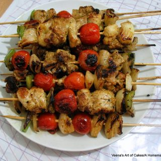 Chicken Kebab Middle Eastern Style