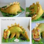 Dinosaur Cake – How to make a Dinosaur Cake