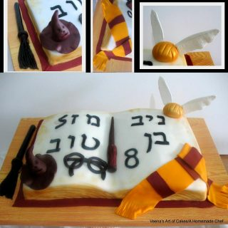Harry Porter Book Cake