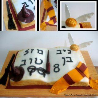 Open Book Cake