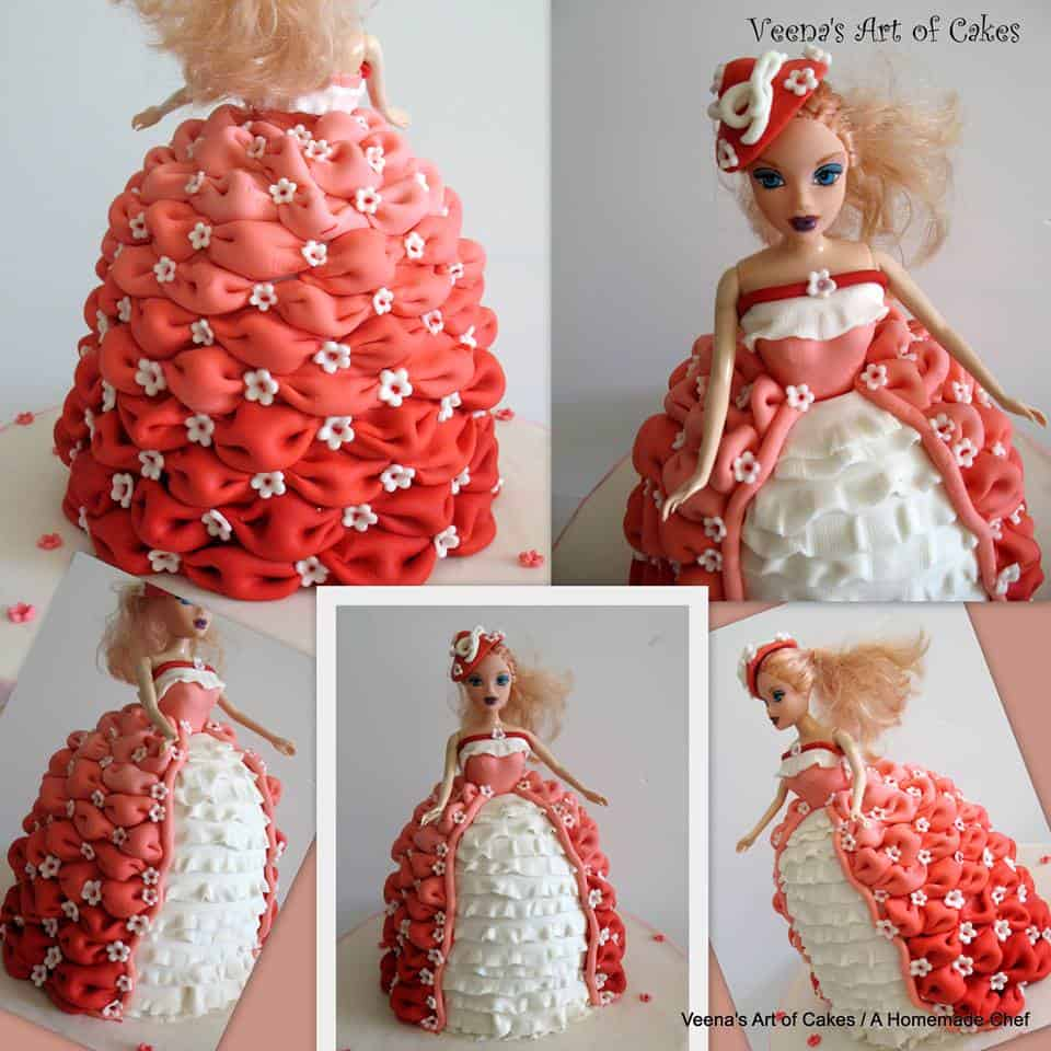 Billow doll cake