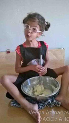 rhea-making-cake