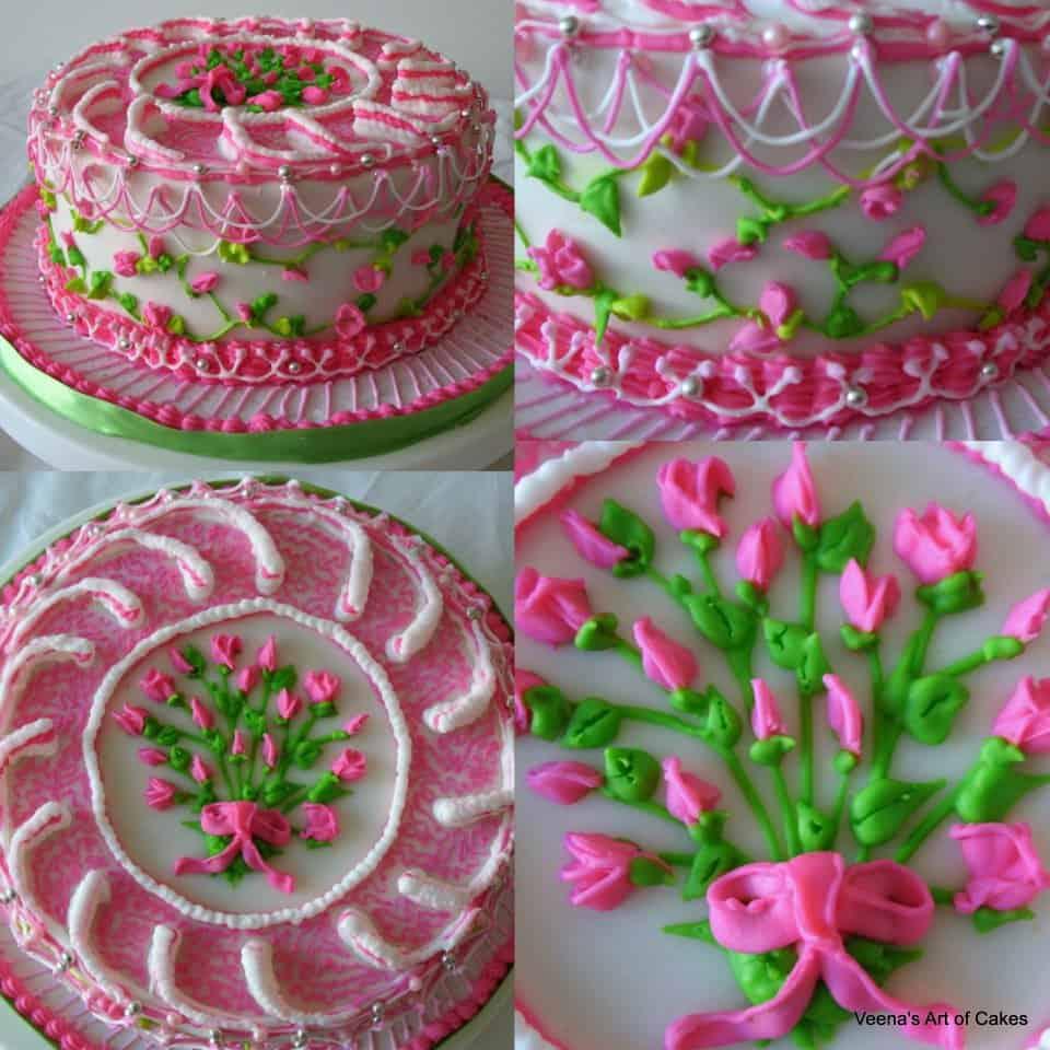 Sting work cake