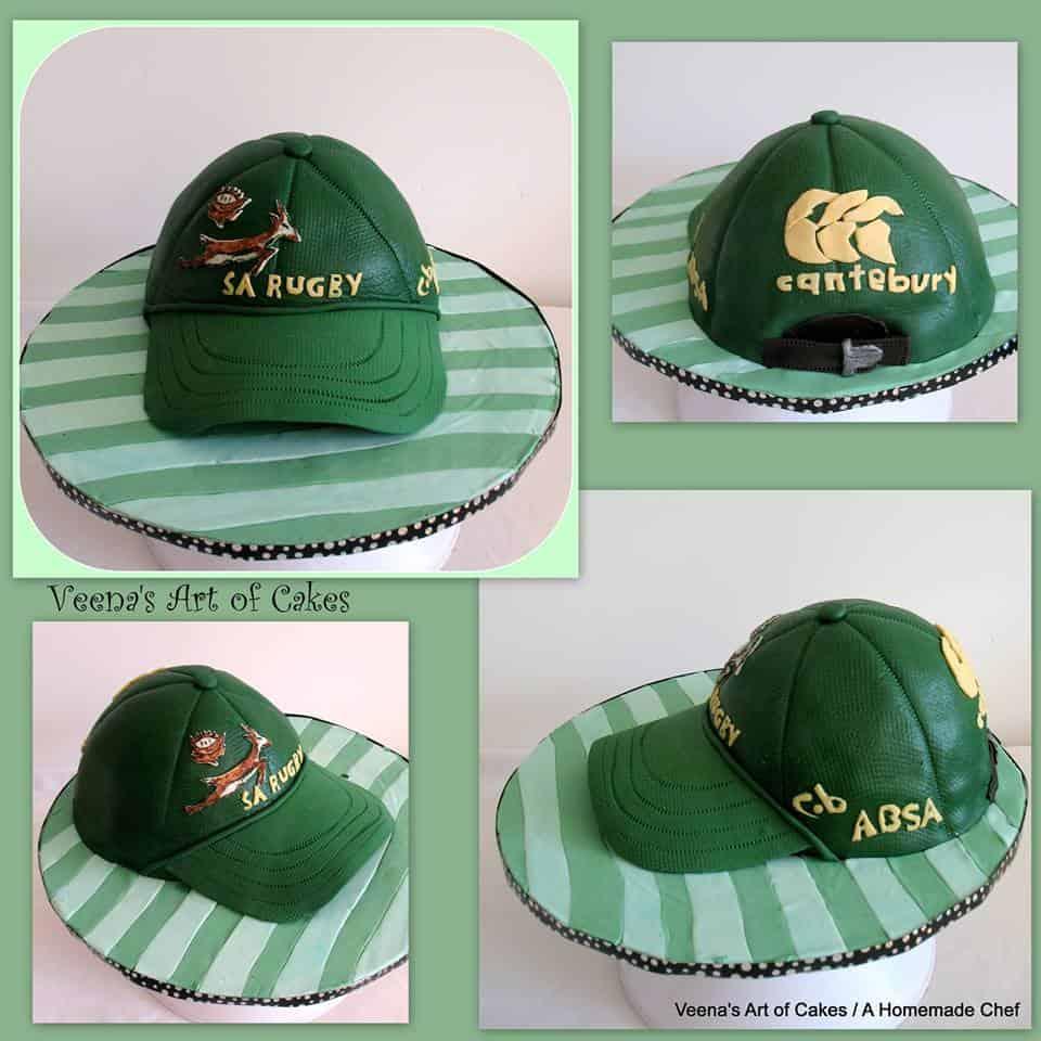 Sports Cap Cake