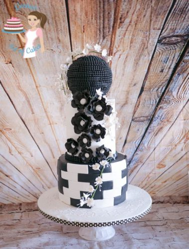 Black and White Wedding (4)