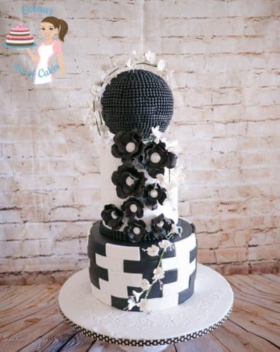 Black and White Wedding (6)