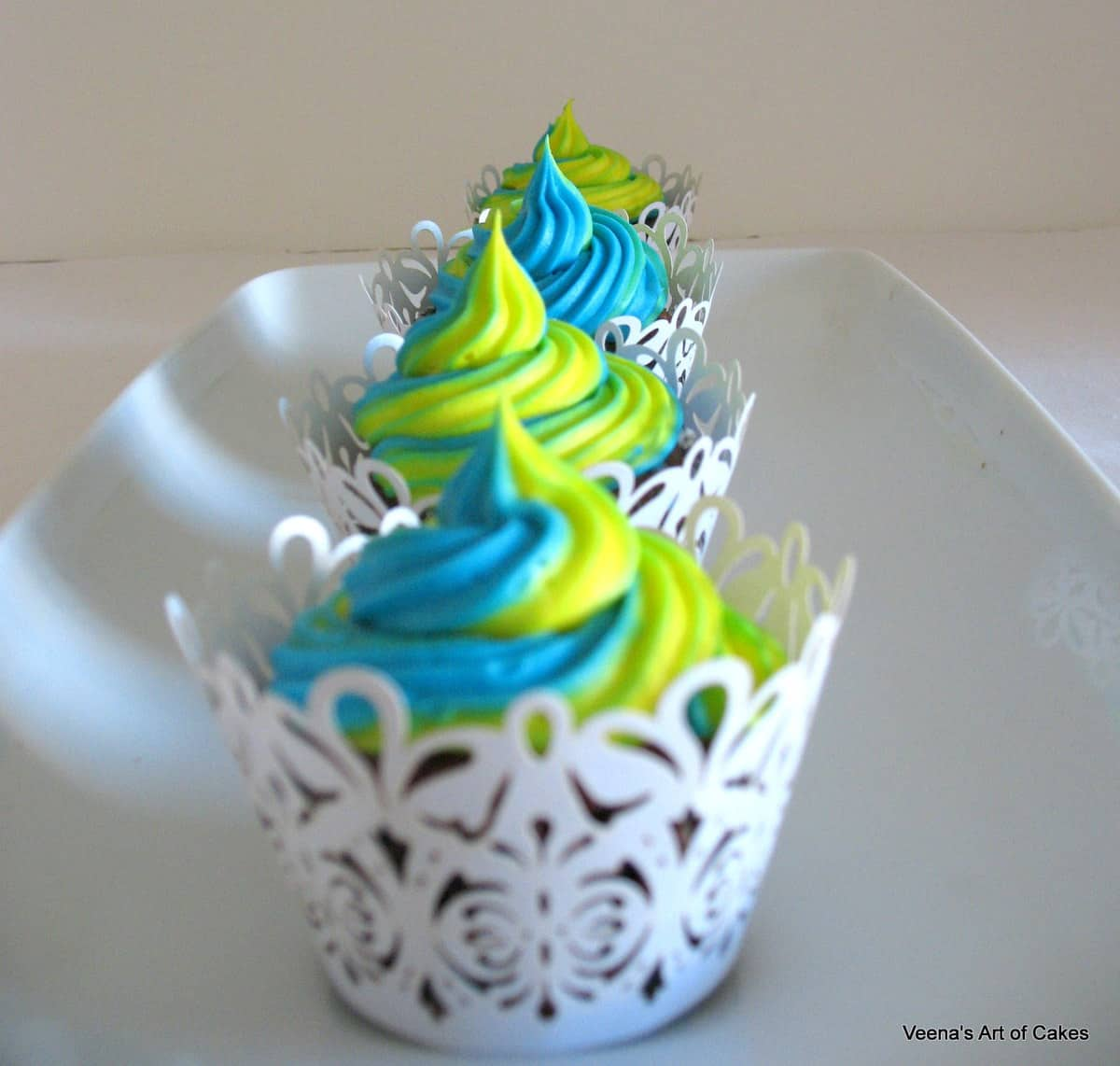 cupcakes with swirls