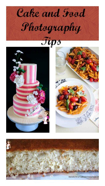 Cake and Food Photography Tips
