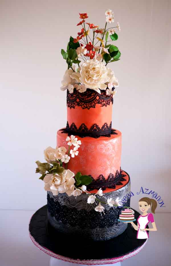 Edible Lace Has Always Been The An Intricate Part Of Cake Decorating But Now Become