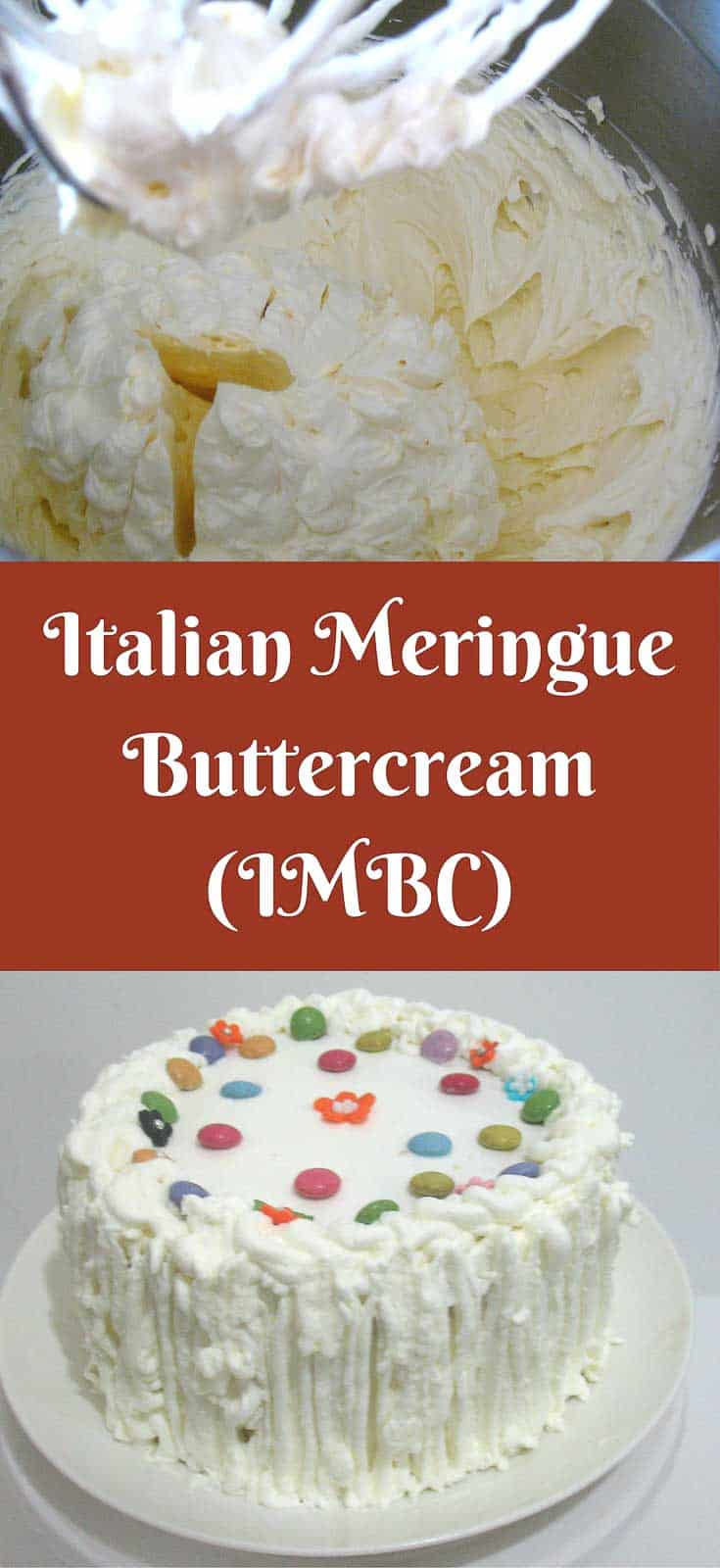 Italian meringue buttercream is made with egg white and boiled sugar syrup instead of powder sugar. So it's usually less sweet; more creamy and has a velvet like silky smooth feel on the tongue. A bit more complicated than making Swiss Meringue but the stability of the meringue is much better and last fluffy longer.