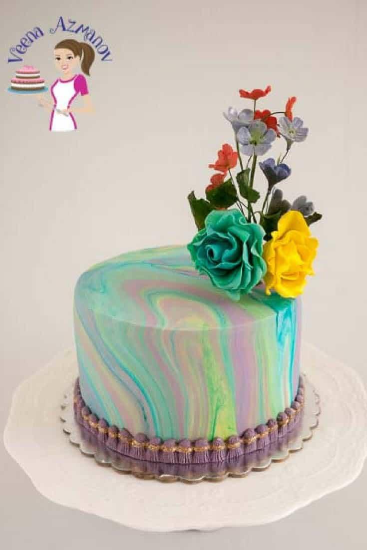 Water Cake Art