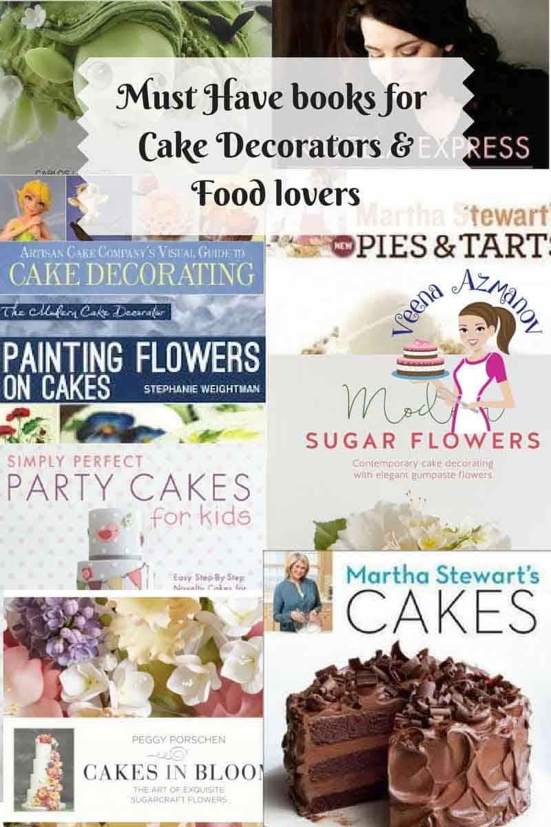 Cake Decor Books : My Favorite Cake Decorating Books - Veena Azmanov