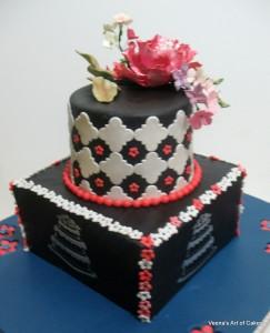 3rd anniversary cake (2)