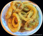 Oven Fired Onion Rings