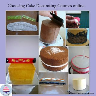 Choosing the right Cake Decorating Course Online