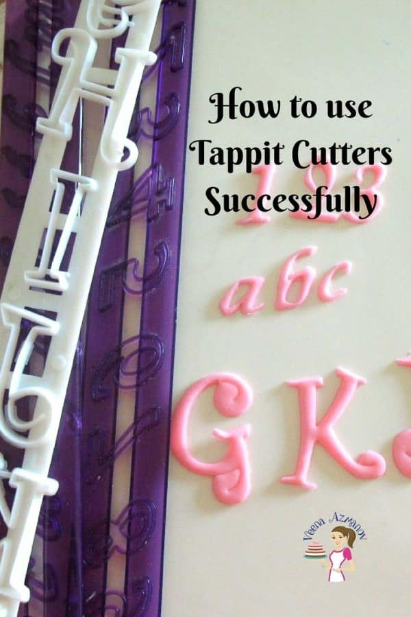 Writing a message on cakes is now easy with these Tappit Cutters. Using these needs a trick or two. This post how to use tappit cutters shares how I use these simple easy and efficiently.