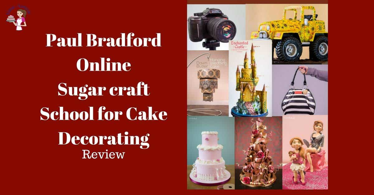 Paul Bradford Online Sugarcraft School for Cake Decorating