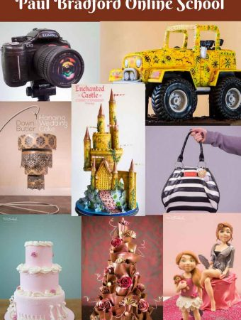 Paul Bradford Sugarcraft School – Online Cake Decorating School