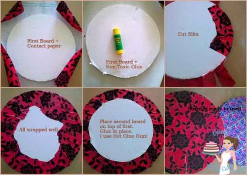 Diy Cake Boards Is A Great Step By Step Tutorial On How To Make Your Own