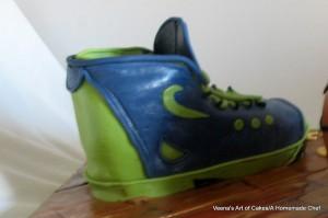 Sports Shoe cake (2)