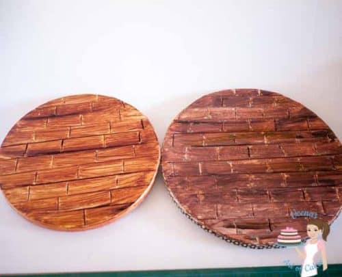 Woodgrain Cake boards (8)