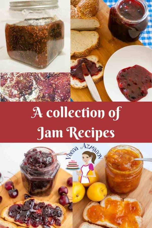 A Collection of jam recipes - all natural no pectic, low sugar
