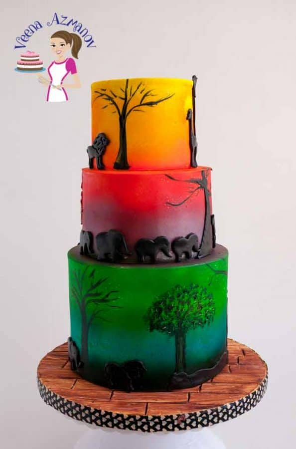 Tall cakes or Extended Height Cakes are the recent trend. They have the ability to make the over all design of the cake more tall, lean and elegant. These are not difficult to make but a few precautions are worth paying attention to.