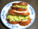 Avocado and egg sandwich spread
