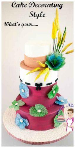 Cake Decorating Style_