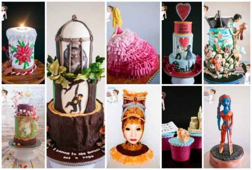 Collaboration cakes of 2015