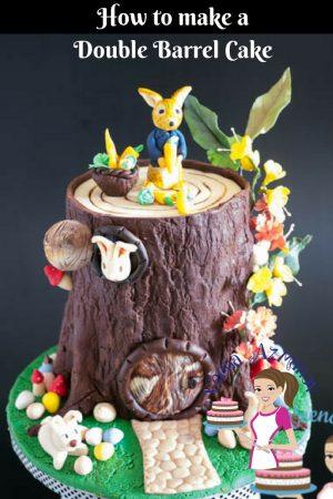 What are Double Barrel Cakes – Cake Decorating Basics