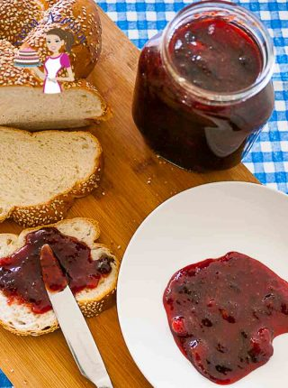Homemade Strawberry Jam recipe without pectin