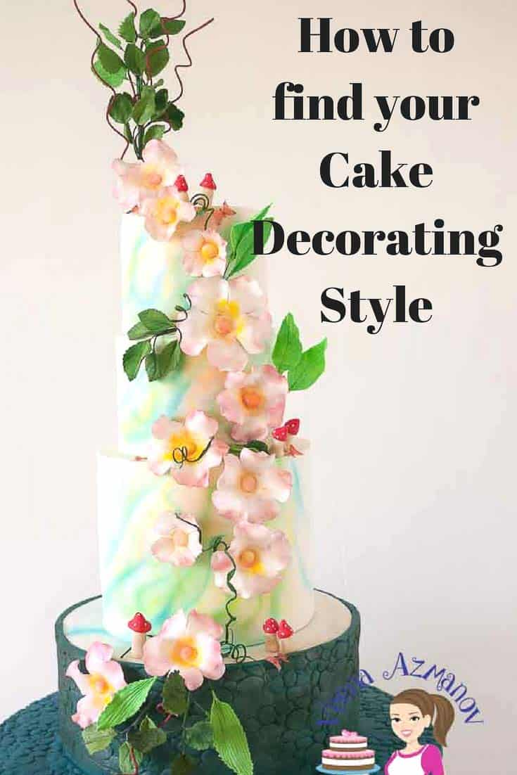 Do you know what is your cake decorating style? Every profession or artist has his or her own style. Sometimes figure out what your own personal style is can be challenging. Here are a few tips that might help.