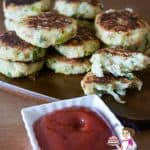 These Leek and potato patties are an ideal side dish to accompany many meat dishes. These are very traditionally made during Passover or Easter Celebrations across the Middle East. Delicious moist and tender cooked till golden brown