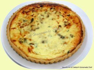 Mushroom and Ricotta Cheese Tart
